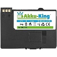 Akku-King Akku für Siemens C55, A51, A52, A55, A57, S55, SL55, Sinus 701, Gigaset SL37H - ersetzt EBA-510, V30145-K1310-X250 - Li-Ion 900mAh