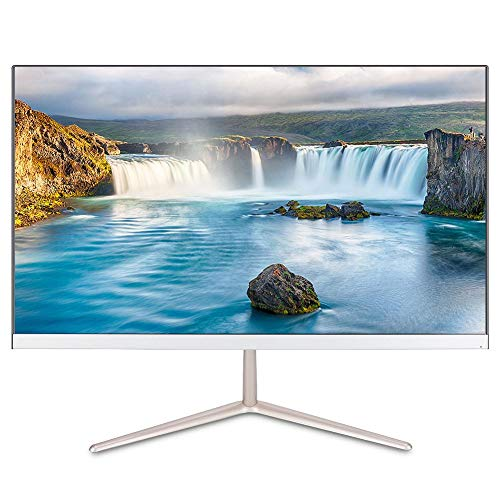 21.5 Zoll Gaming Curved Monitor, Gaming LED HD Computer Screen Display mit 1920 * 1080 Pixel, 2ms Reaktionszeit, 300 cd/m2 Heilligkeit, VGA + HDMI + Audio + DP