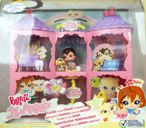 Bratz - Lil' Angelz - Castle in the Clouds Playset - Collector Series - includes #811 Charli & #812 Puppy -