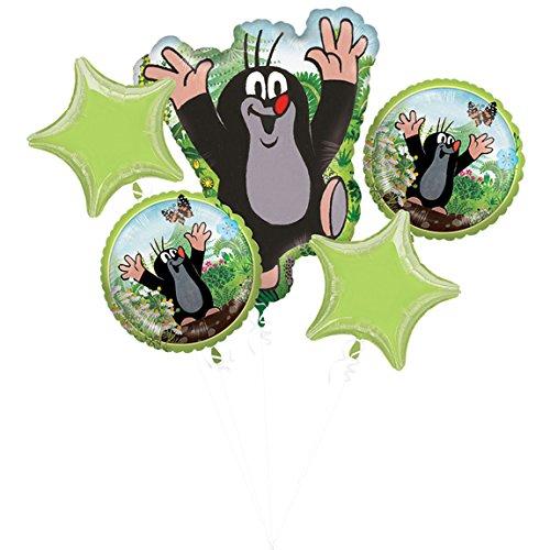 Halloween Das Mutter Natur Kostüm - Amscan 3796301 Folienballon Bouquet Little Mole