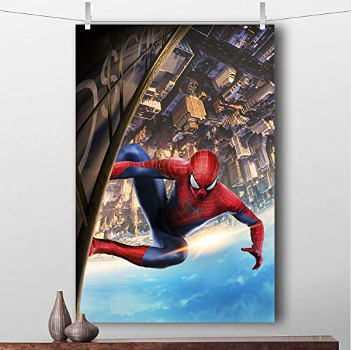 Taoyuemaoyi Spider Man Skyscraper Wall Art Posters