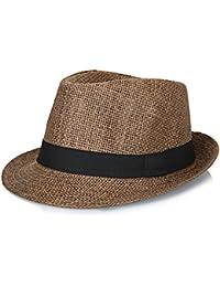 8a1c1962c5e0a YASONG Men Summer Panama Straw Fedora Hat