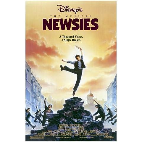 Póster de película 27 x 40 Newsies - 69 cm x 102 cm Christian Bale Bill Pullman Robert Duvall Ann-Margret Michael Lerner Kevin