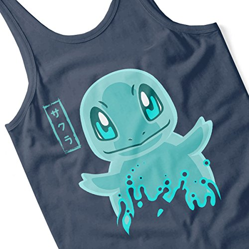 Pokemon Squirtle Men's Vest Navy Blue