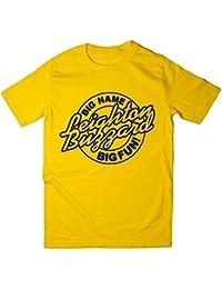 Balcony Shirts 'Leighton Buzzard - Big Name, Big Fun' Mens T Shirt