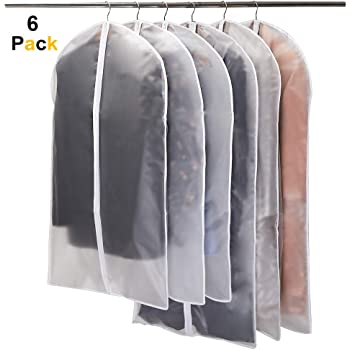 3eba9643d7d4 Breathable Clothes Cover - Set of 6  Amazon.co.uk  Kitchen   Home