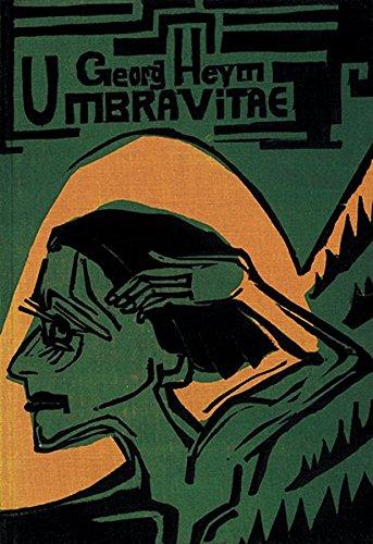 Umbra vitae: Nachgelassene Gedichte. Mit 47 Originalholzschnitten von Ernst Ludwig Kirchner