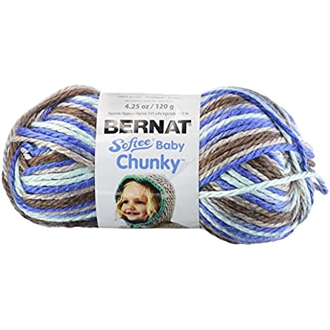 Spinrite Softee-Chunky Yarn Jumpin'Ombre-Jack, altri,