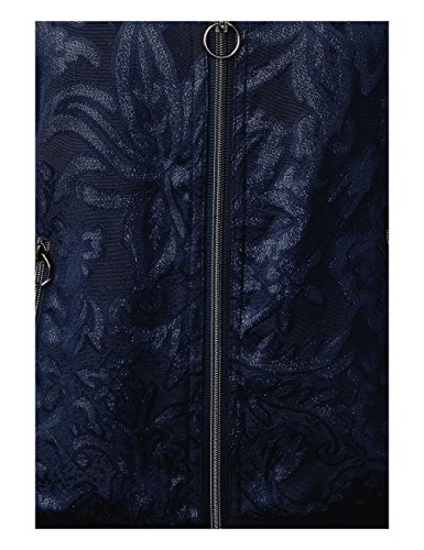 Cecil Damen Bomber Jacke Blau (Deep Blue 30128)