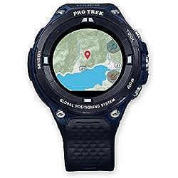 Casio WSD-F20A-BUAAE LCD GPS (Satélite) Negro, Azul Reloj Inteligente - Relojes Inteligentes (LCD, Pantalla Táctil, WiFi, GPS (Satélite), 90 g, Negro, Azul)
