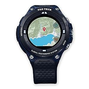 Casio WSD-F20A-BUAAE LCD GPS (satellitare) Nero, Blu smartwatch