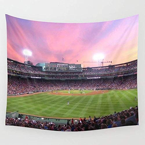 gthytjhv Tapisserie Decor Collection, Fenway Park Wall Tapestry Hanging Tapestries Wall Art for Living Room Bedroom Dorm Decor 80 X 60 Inch