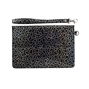 DooDa PU Leather Pouch Case Cover With Magnetic Closure & Video Viewing Stand For Alcatel Pixi 7 3G