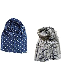 Stoles And Scarves For Women, Women's Scarf, Stole For Summer/Winter, Stylish, Scarf Combo, Multicolour
