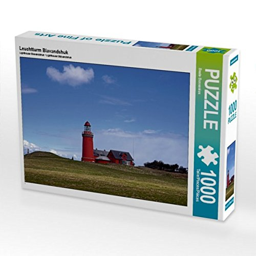 Preisvergleich Produktbild Leuchtturm Blavandshuk 1000 Teile Puzzle quer (CALVENDO Orte)