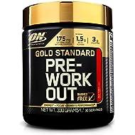 Optimum Nutrition Gold Standard Pre-Workout Supplement, Fruit Punch, 330 g