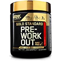 Optimum Nutrition Gold Standard Pre-Workout Supplement, Fruit Punch, 330 g