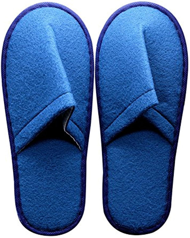 SPA-slippers Zapatillas de SPA, grueso único antideslizante pelo bueno tirón para Spa, invitado de la fiesta,... -