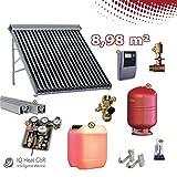 Solaranlage TWL EtaSunPro HLK30-2 Vakuumröhrenkollektorset 8,98m²