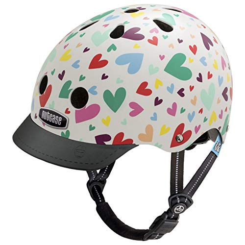 Nutcase Little Nutty Street Helmet Kinder Happy Hearts 2019 Fahrradhelm