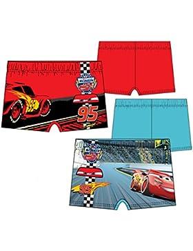Pack de 2 bañadores (tipo boxer) 2 modelos diferentes diseño CARS 3 (Disney PIXAR) 85% poliester 15% elastano