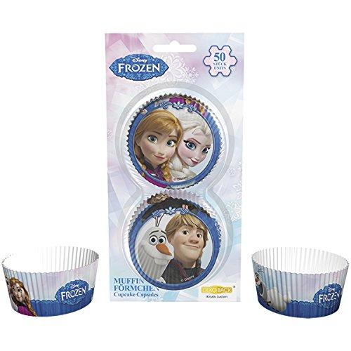 Dekoback 32045 Muffinförmchen Frozen, 50 stück (Geburtstag Frozen Ideen)