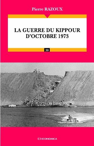 La guerre du Kippour d'octobre 1973