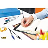 Bic 837363 Cristal Medium Ballpoint Pen - Black (Pack of 50)