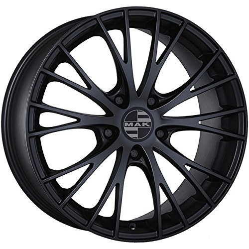 'Räder Kreise Legierung Auto Mak Felge Rennen Mat Black 205x 13020Zoll (20 Zoll Black Räder)