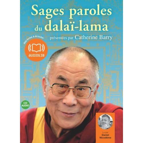 Sages paroles du dalaï-lama (z) - Audio livre 1CD audio