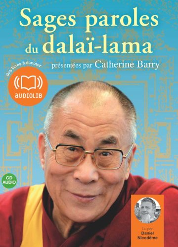 Sages paroles du dalaï-lama (z) - Audio livre 1CD audio
