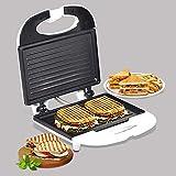 SHEFFIELD CLASSIC 6005 Grill Sandwich Maker (White)