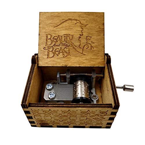 Fernando S.L Mano Pura Juego de Tronos clásico Caja de música Mano Caja de música de Madera artesanía de Madera Creativa Mejores Regalos