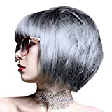 renbow Crazy Color Semi Permanent Hair Color Cream Silver No.27 100ml by Renbow