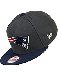 New Era EMEA 9Fifty Snapback NEW ENGLAND PATRIOTS Dunkelgrau Blau