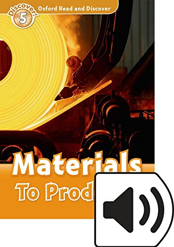 Oxford Read and Discover 5. Materials to Products MP3 Pack