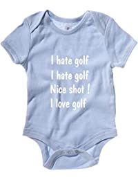 Cotton Island - Baby Bodysuit OLDENG00836 i hatelove golf