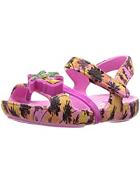 crocs Lina Lights Girls Sandal in Pink