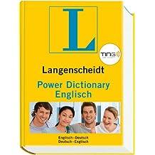 Langenscheidt Power Dictionary Englisch TING - Buch (TING-Ausgabe): Englisch-Deutsch/Deutsch-Englisch