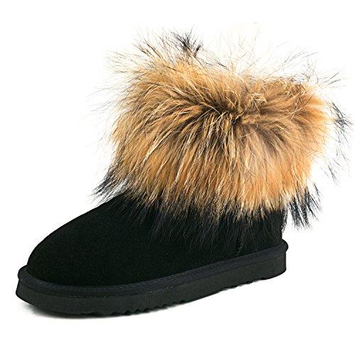 shenduo-boots-fourrees-femme-en-cuirdaim-bottes-de-neige-hiver-courtes-plates-doublure-chaude-d9251-