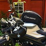 Borsa da serbatoio moto xlmoto, removibile, con spallacci, Custodia anti pioggia, 20L espandibile 28L, Nero