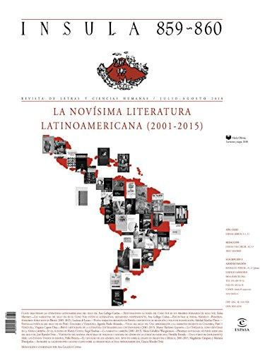 La novísima literatura latinoamericana (2001-2015) (Ínsula n° 859-860 julio-ago) (Monográficos)