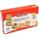 Minigrill 60 Minitostadas de Trigo Normal - 120 g