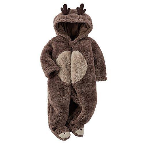 carters-baby-girls-christmas-reindeer-hooded-bunting-grey-nb-by-carters