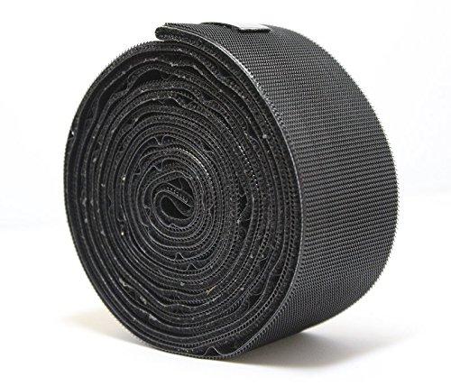 Eliza Tinsley 3945202 - Tape 50Mm X 2,5M Griptite Pesados - Negro (Caja De 6)