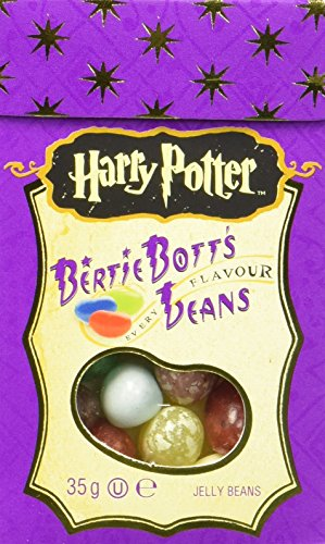 Jelly Belly Harry Potter Bertie Botts Every Flavour Jelly Beans, 24er Pack  (24 x 34g )