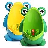 Global Brands Online Kinderbadezimmer Töpfchen Kinder Frühe Ausbildung Trainning Frosch Töpfchen entfernbares Urinal