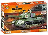 Konstruktion Spielzeug kleine Armee Panzer M46 Patton World of Tanks Bausteine