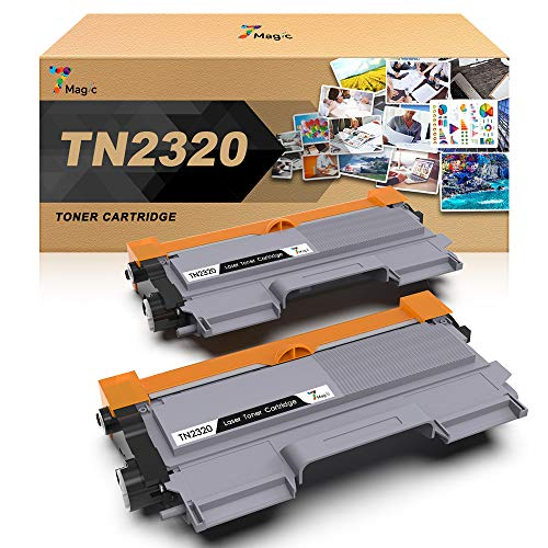 TN2320 7Magic TN2320 TN-2320 Toner Compatibile con Brother TN2320, Compatibile con Brother MFC-L2700DW MFC-L2740DW MFC-L2720DW HL-L2300D HL-L2340DW DCP-L2500D