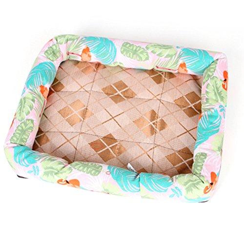 Scrox Stofftier, Oxford-Gewebe, Flamingo, für Haustiere, Kissen für Katzen und Hunde, warm, komfortabel, für Haustiere